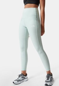 The North Face - W DUNE SKY 7/8 TIGHT - Leggings - Trousers - misty jade heather - 0