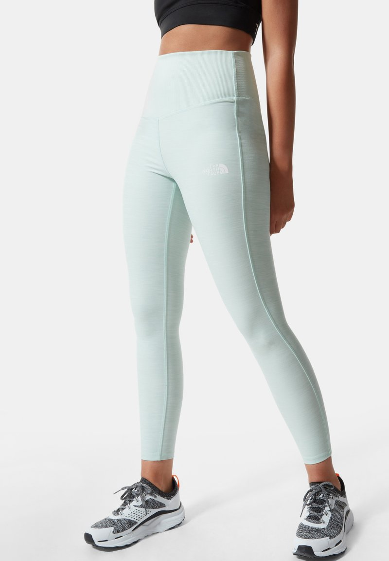 The North Face - W DUNE SKY 7/8 TIGHT - Leggings - Trousers - misty jade heather