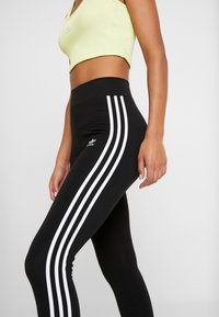 adidas Originals - Leggings - Trousers - black/white - 4
