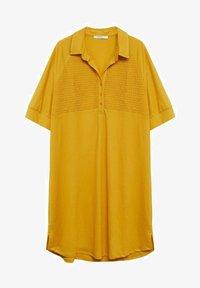 Violeta by Mango - CAMILO - Shirt dress - senfgelb - 3