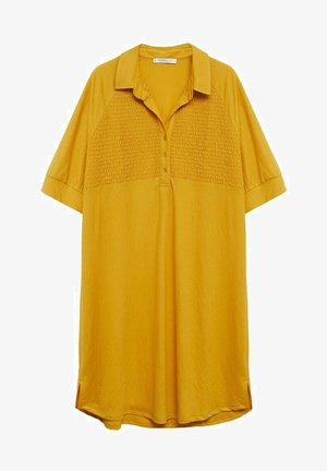 CAMILO - Shirt dress - senfgelb