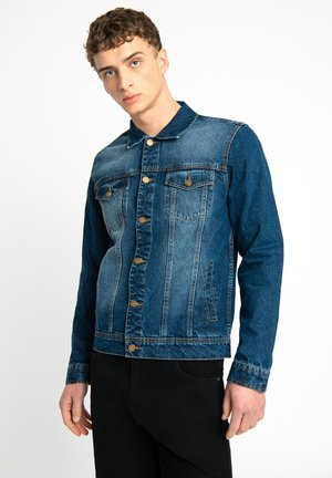 LDN DNM STONE WASHED INDIGO DENIM TRUCKER JACKET - Denim jacket - blue