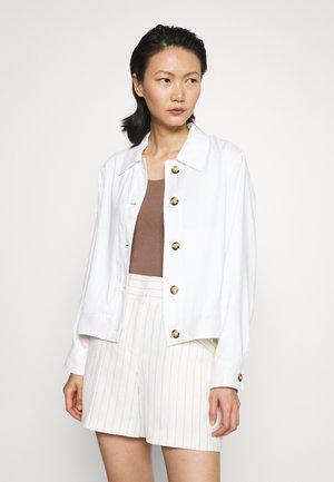 SNAP JACKET - Summer jacket - white
