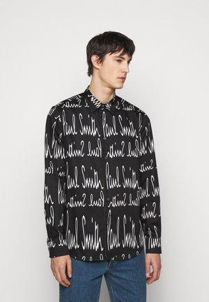 GENTS TAILORED  - Shirt - black