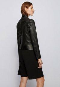 BOSS - C_SABELLA - Leather jacket - black - 2