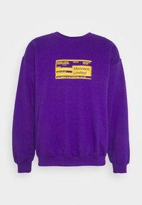 Mennace - UNISEX PRIDE TICKET SWEATSHIRT - Sweatshirt - purple - 4