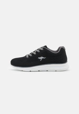 KJ-SOFT - Sneakers laag - jet black/steel grey