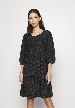 VMSKY SHORT DRESS - Jerseykjole - black/silver