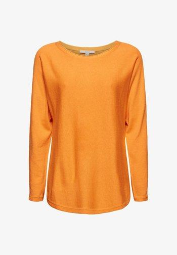 Jumper - golden orange