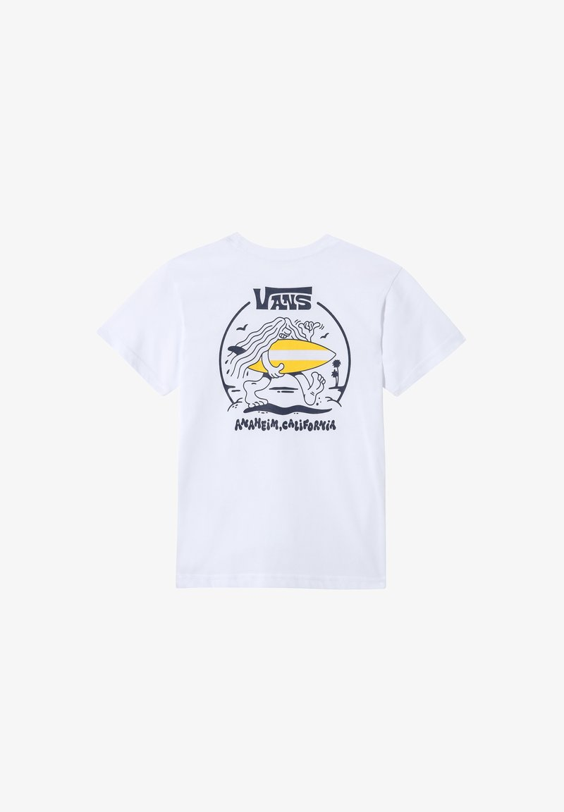 Vans - Camiseta estampada - white