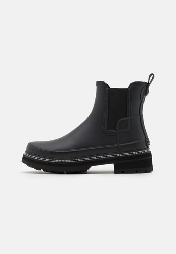 WOMENS REFINED STITCH DETAIL CHELSEA BOOTS
