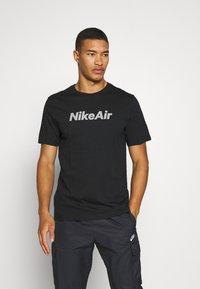 Nike Sportswear - TEE AIR - Triko spotiskem - black - 0