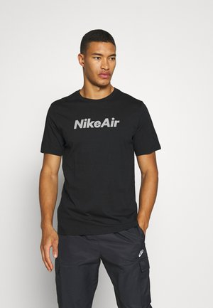 TEE AIR - Print T-shirt - black