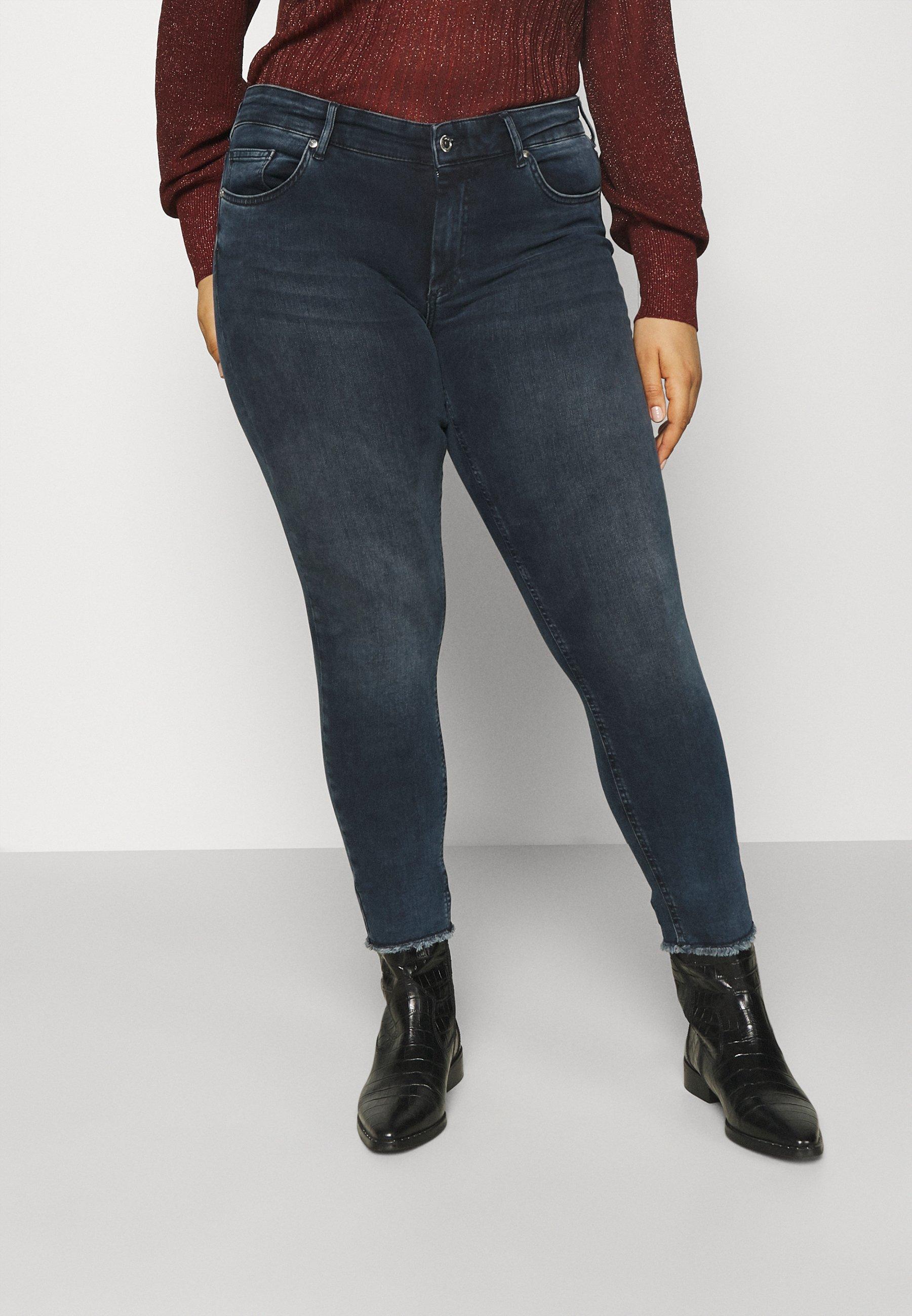 Damen CARWILLY LIFE RAW  - Jeans Skinny Fit