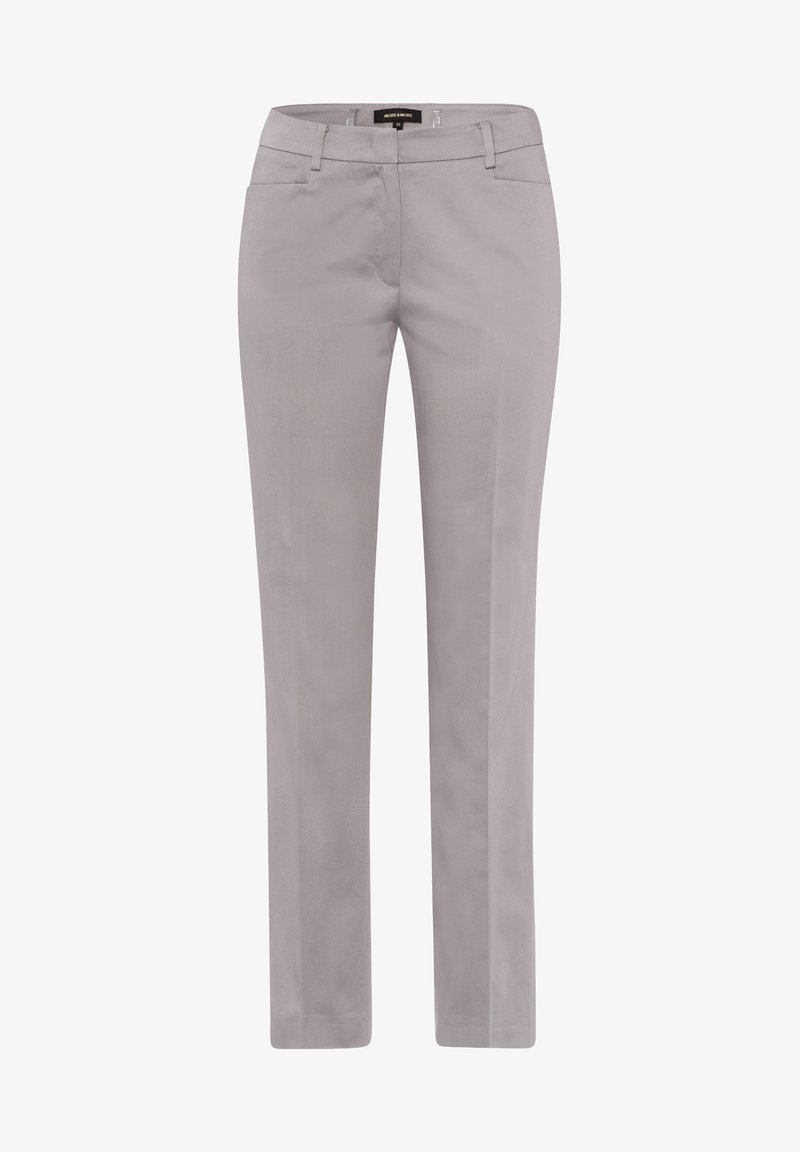 More & More - HEDY - Trousers - grau