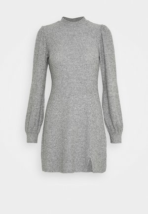 COZY SHORT DRESS - Jumper dress - grey