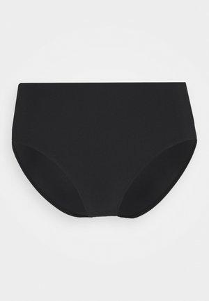 MATTE HIGH BRIEF - Spodní díl bikin - black