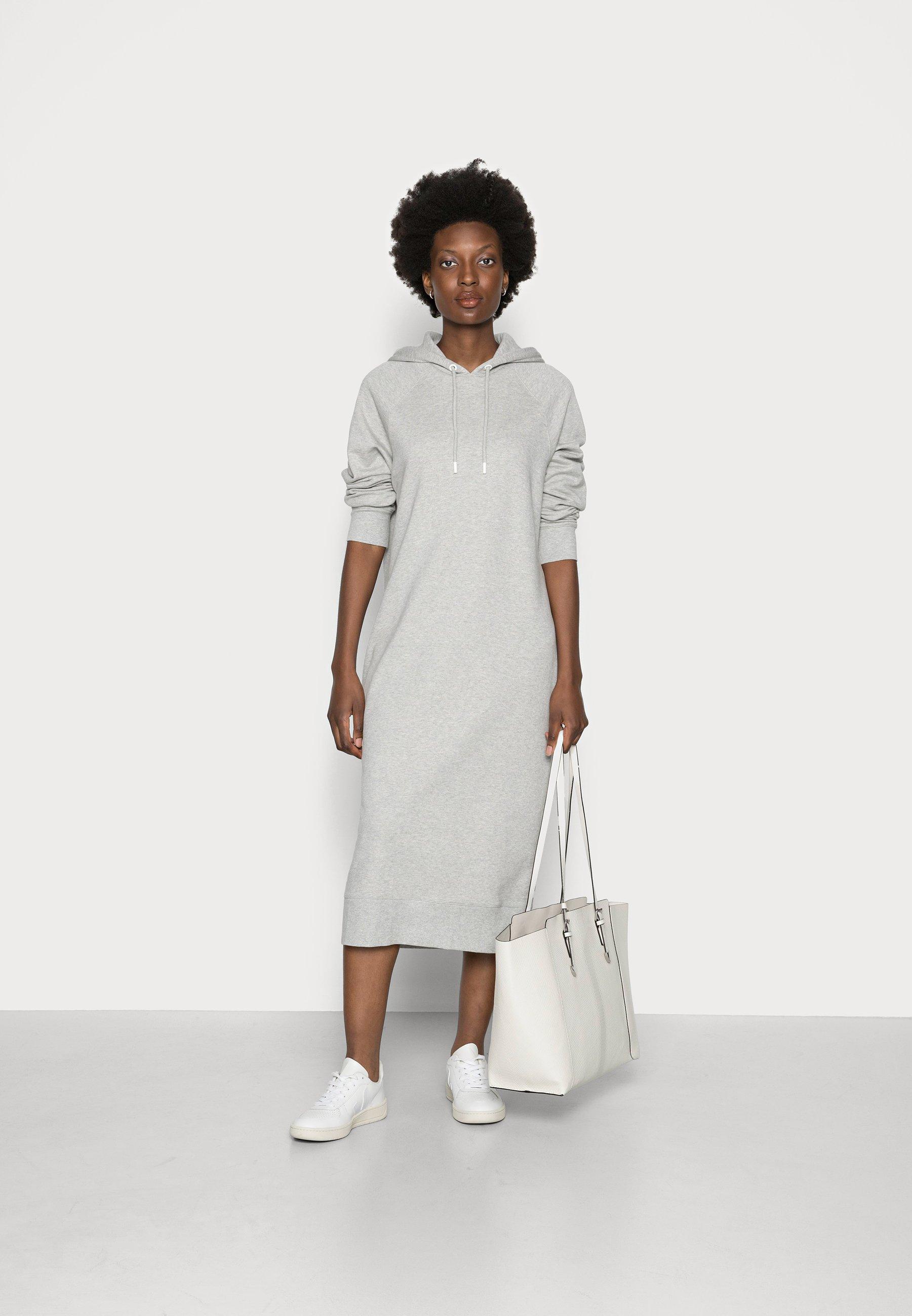 Women HOODED DRESS - Day dress
