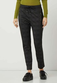 MAC Jeans - GLENCHECK MODELL 'FURTURE 2.0' - Trousers - dunkelgrau - 0