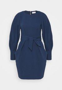 Closet - LONG SLEEVE TULIP DRESS - Shift dress - navy - 5