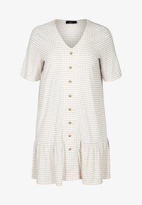 Zizzi - Shirt dress - white - 3
