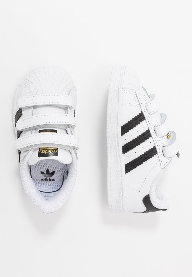 adidas Originals - SUPERSTAR - Trainers - footwear white/core black