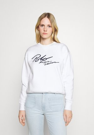 LONG SLEEVE - Sweatshirt - white