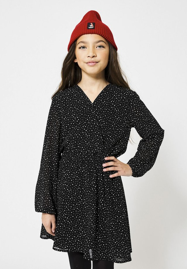 DANA JR - Korte jurk - washed black