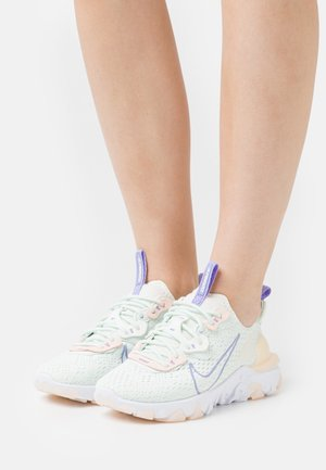 REACT VISION - Sneakers basse - barely green/purple pulse/crimson tint/pale ivory/white