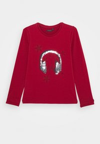 IKKS - EMBELLISHED HEAD PHONES PRINT  - T-shirt à manches longues - rouge foncé - 0