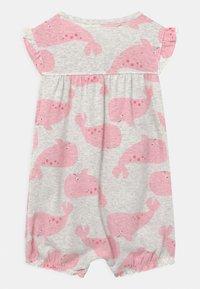 Carter's - SUR WHALE - Jumpsuit - grey/pink - 1
