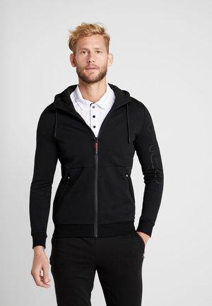 SCOTT - veste en sweat zippée - black