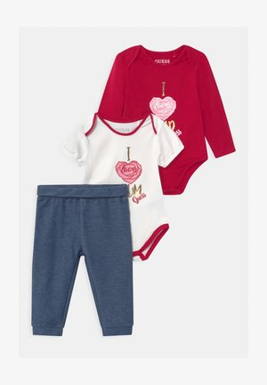 BABY SET - Print T-shirt - berry mixer multi
