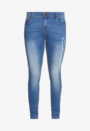 SCRIPT SPRAY ON - Jeans Skinny Fit - mid blue