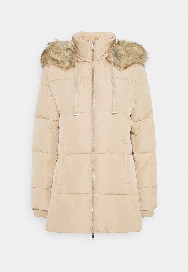 Vinterkåpe / -frakk - beige