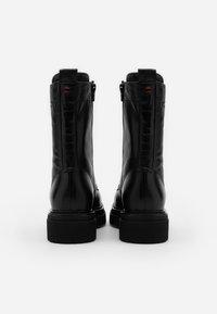 Marc O'Polo - UNDER  - Platform boots - black - 3
