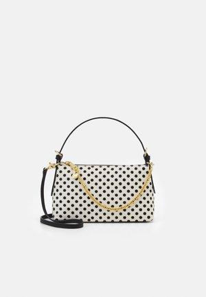 POSEN ZIP TOP CROSSBODY - Handbag - multi/white/black