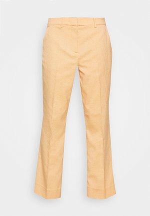 JASABI CHECK TROUSER - Tygbyxor - light orange