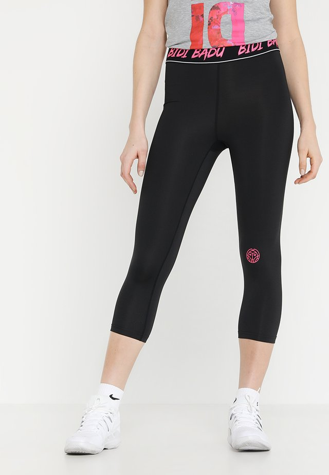 MILA TECH CAPRI - Legging - black