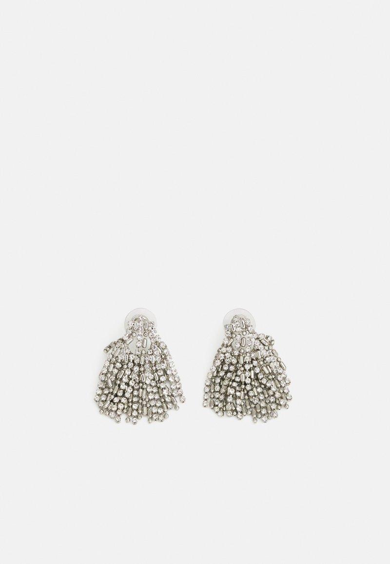 DANNIJO - KANE EARRINGS - Örhänge - silver-coloured