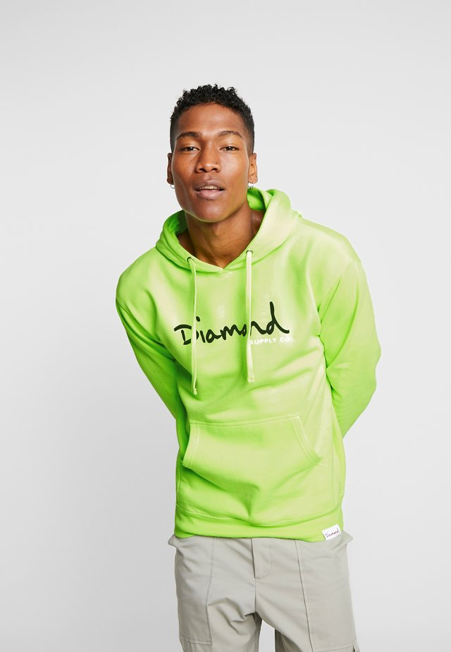 SHIMMER - Hoodie - safety green