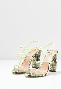 Call it Spring - IMPRESSA - High heeled sandals - light green - 4