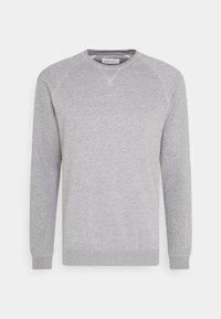 Pier One - SET - Sweat à capuche - light grey melange/black - 3