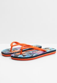O'Neill - MOYA  - T-bar sandals - blue with pink or purple - 1