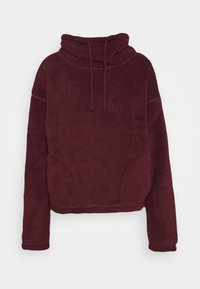 Hollister Co. - REVERSIBLE SHERPA - Fleece jumper - tan/rust - 0