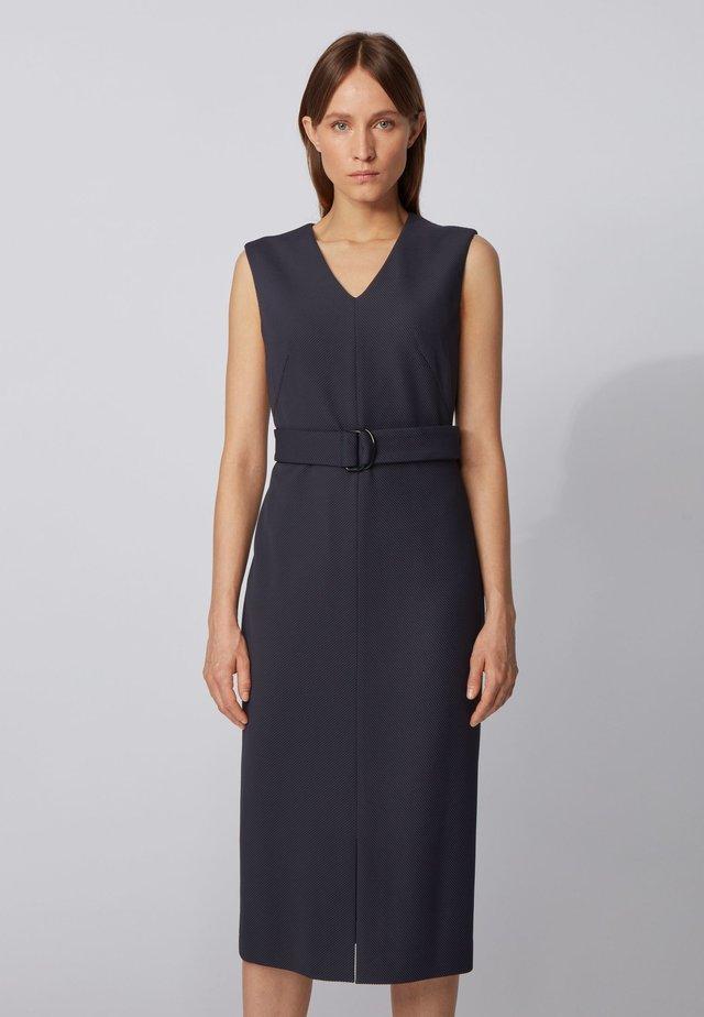 DADORINA - Shift dress - open blue