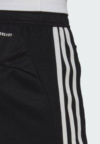 adidas Performance - PRIMEBLUE DESIGNED TO MOVE SPORT 3-STRIPES SHORTS - Sports shorts - black - 6