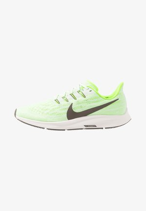 AIR ZOOM PEGASUS  - Stabilty running shoes - phantom/ridgerock/electric green