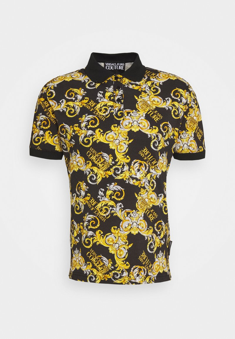 Versace Jeans Couture - PRINT LOGO NEW - Polo - nero