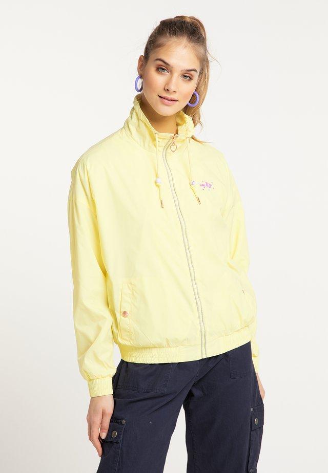 Summer jacket - hellgelb